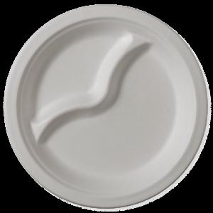 Farfurii biodegradabile rotunde