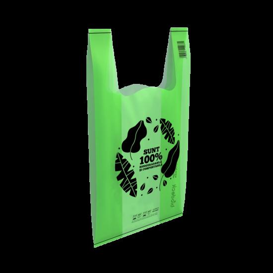 Pungi biodegradabile Biodeck fabricate din amidon de porumb