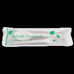 set tacimuri biodegradabile cutit furculita lingura servetel