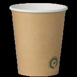 Pahar cafea Kraft 240ml biodegradabil Biodeck